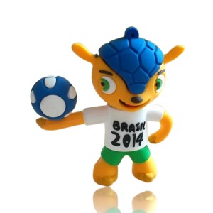 Mascot 'Fuleco' memory stick