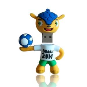 Mascot 'Fuleco' USB Pen Drive